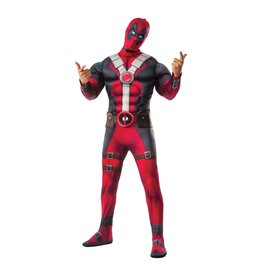Men's Costume Deadpool  Extra Small