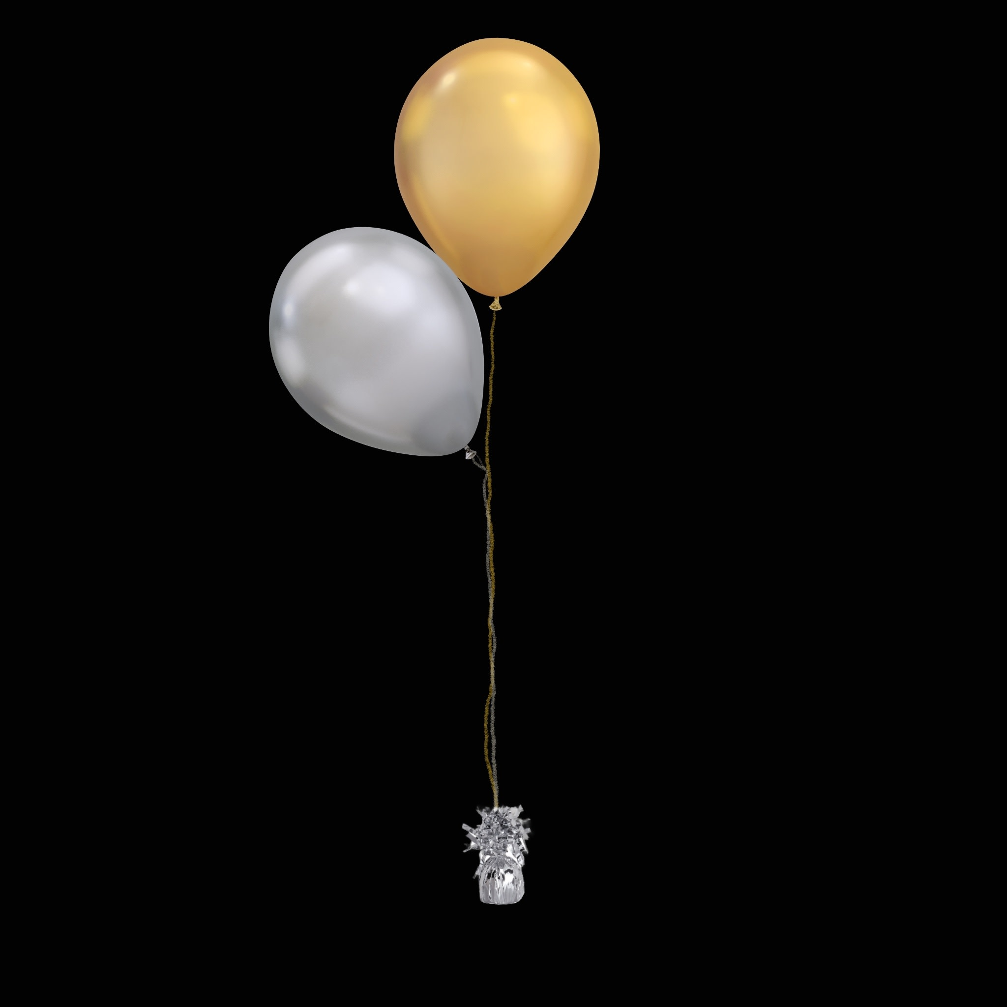 2 Balloons to a Weight Not-Treated