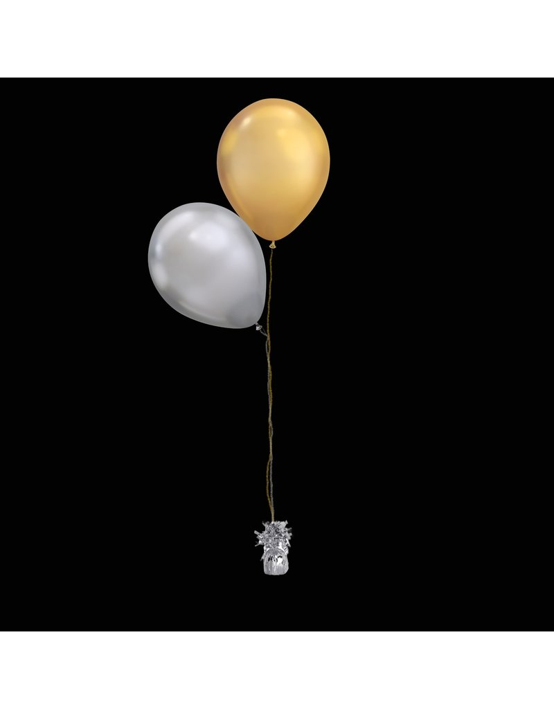 2 Balloons to a Weight Treated