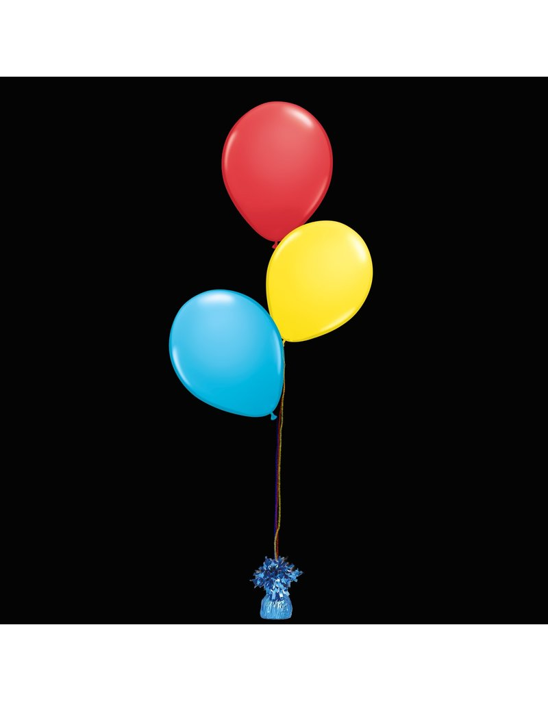 3 Balloons to a Weight Treated