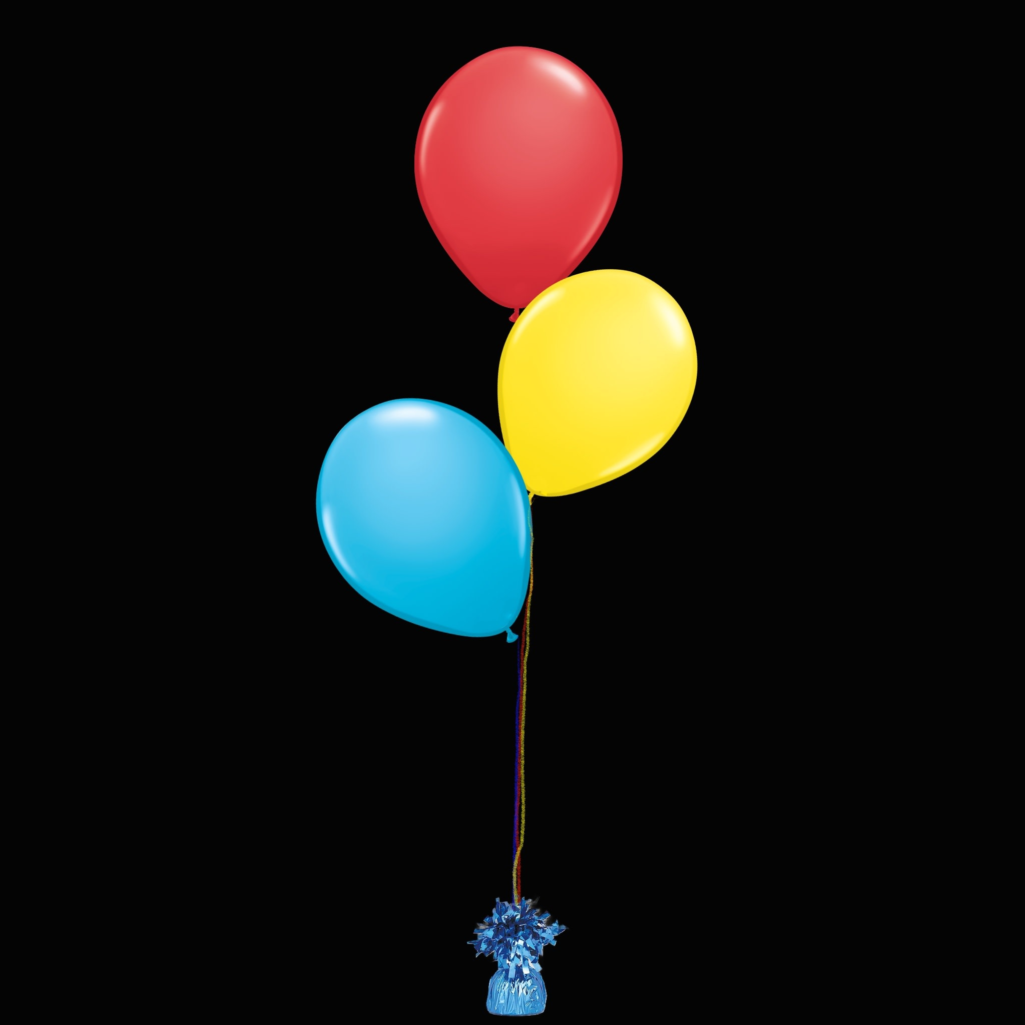 3 Balloons to a Weight Not-Treated