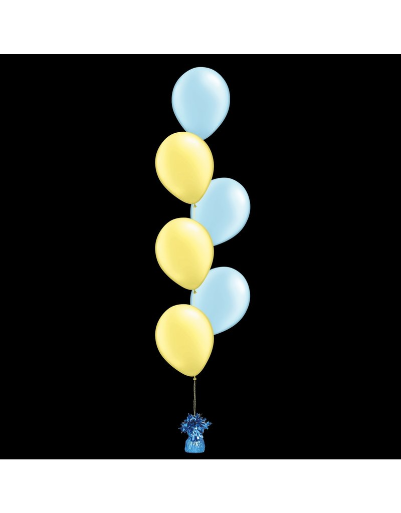 6 Balloons to a Weight Treated
