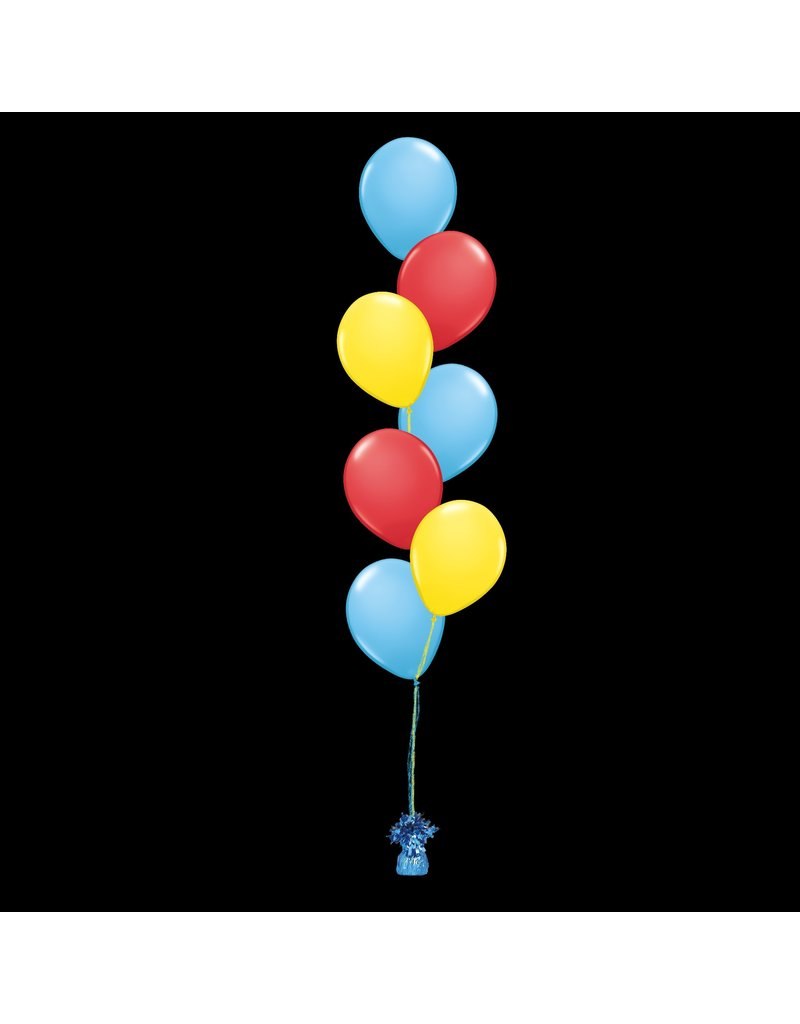 7 Balloons to a Weight Treated