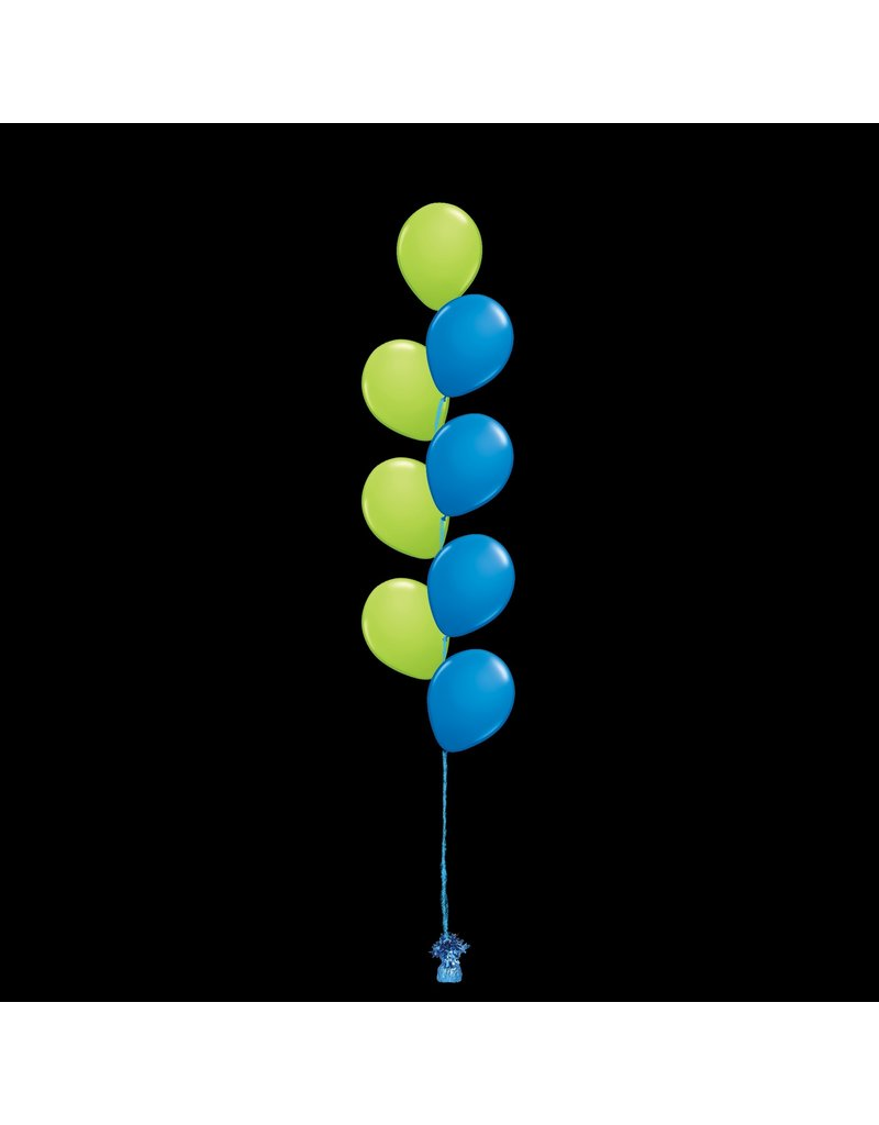 8 Balloons to a Weight Not-Treated