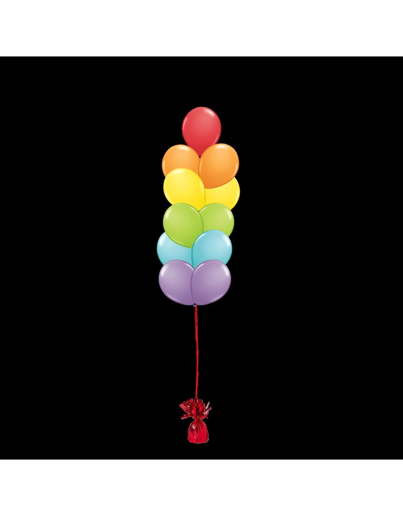 11 Balloons to a Weight Treated