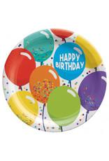 """Birthday Celebration 7"""" Round Plates (60)"""