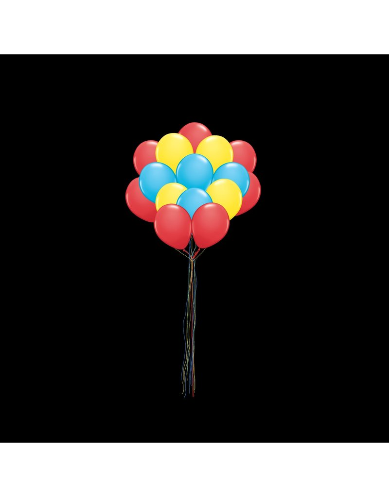 15 Balloons to a Weight Not-Treated