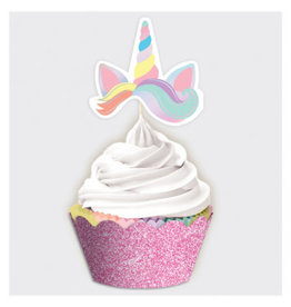 Magical Rainbow Birthday Cupcake Kit