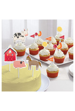 Barnyard Birthday Paper Topper Kit
