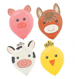 Barnyard Birthday Latex Balloon Decorating Kit
