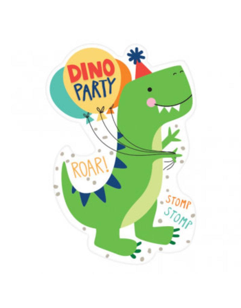 Dino-Mite Postcard Invitation