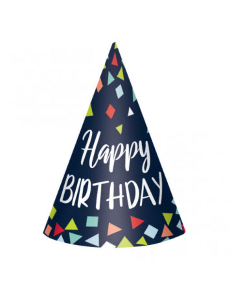 A Reason to Celebrate Paper Cone Hats (8)