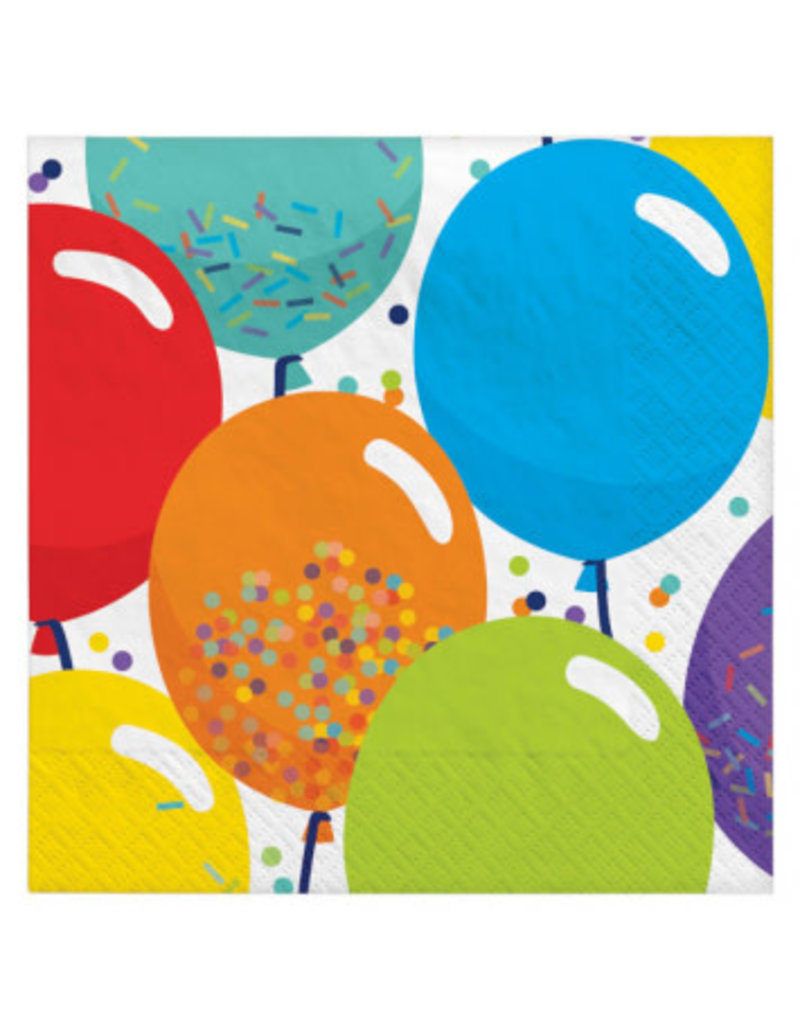 Birthday Celebration Beverage Napkins (125)