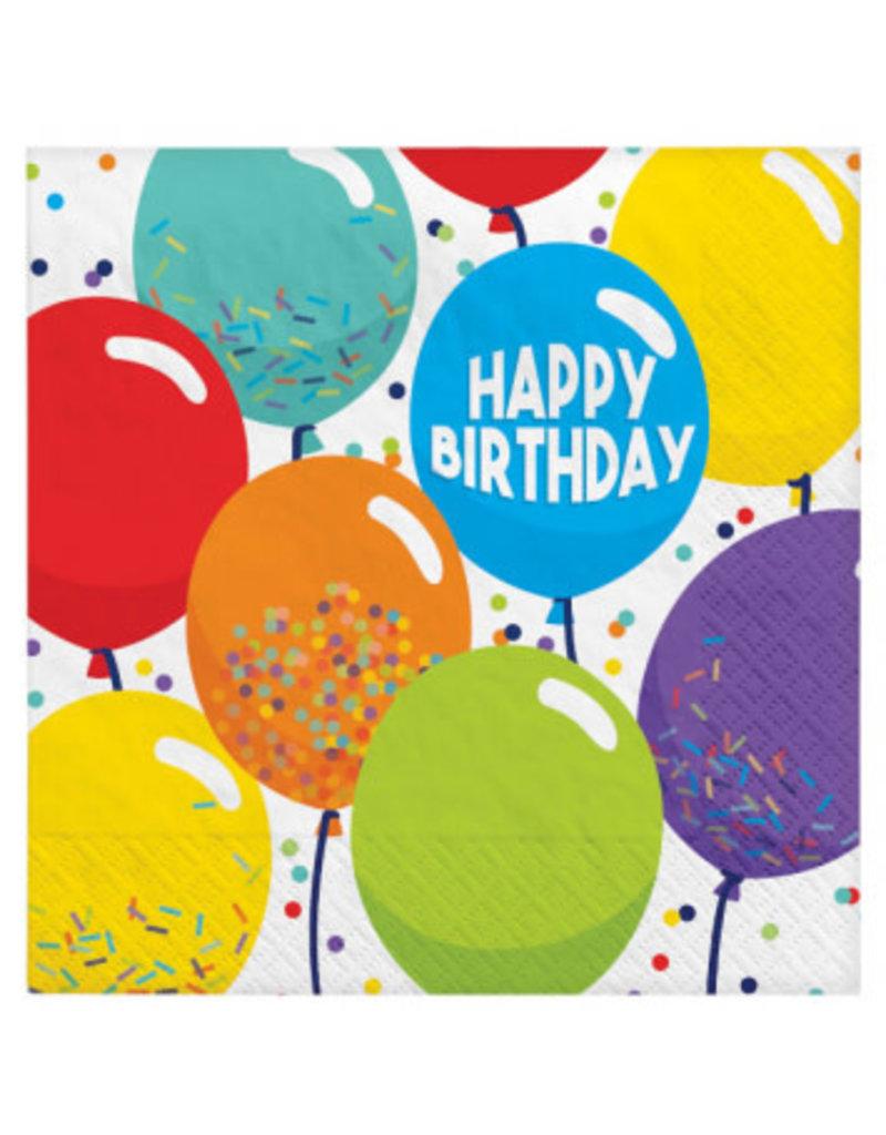 Birthday Celebration Luncheon Napkins (125)