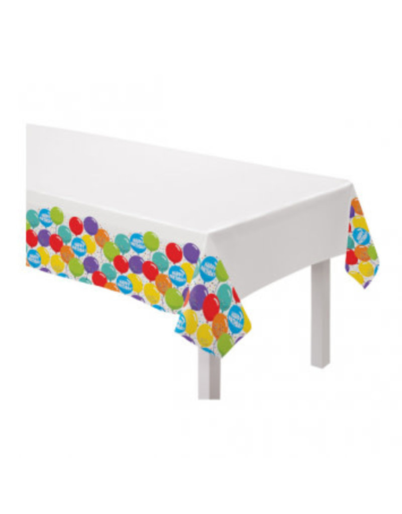 Birthday Celebration Plastic Table Covers (3 Table Covers)