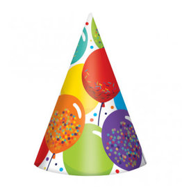 Birthday Celebration Cone Hats (24)