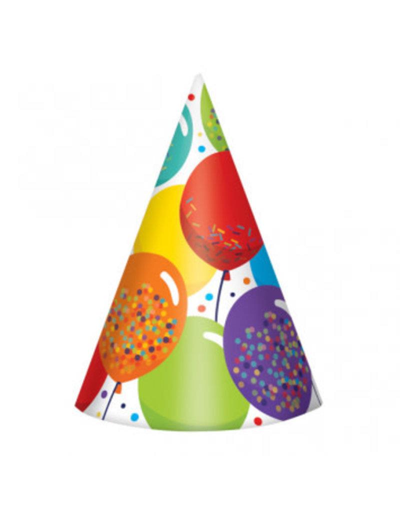 Birthday Celebration Cone Hats