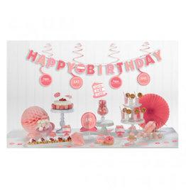 Birthday Pink Mini Decorating Kit