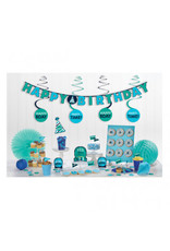 Birthday Blue Mini Decorating Kit