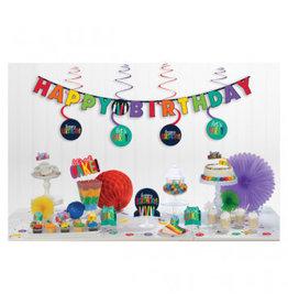 Birthday Rainbow Mini Decorating Kit