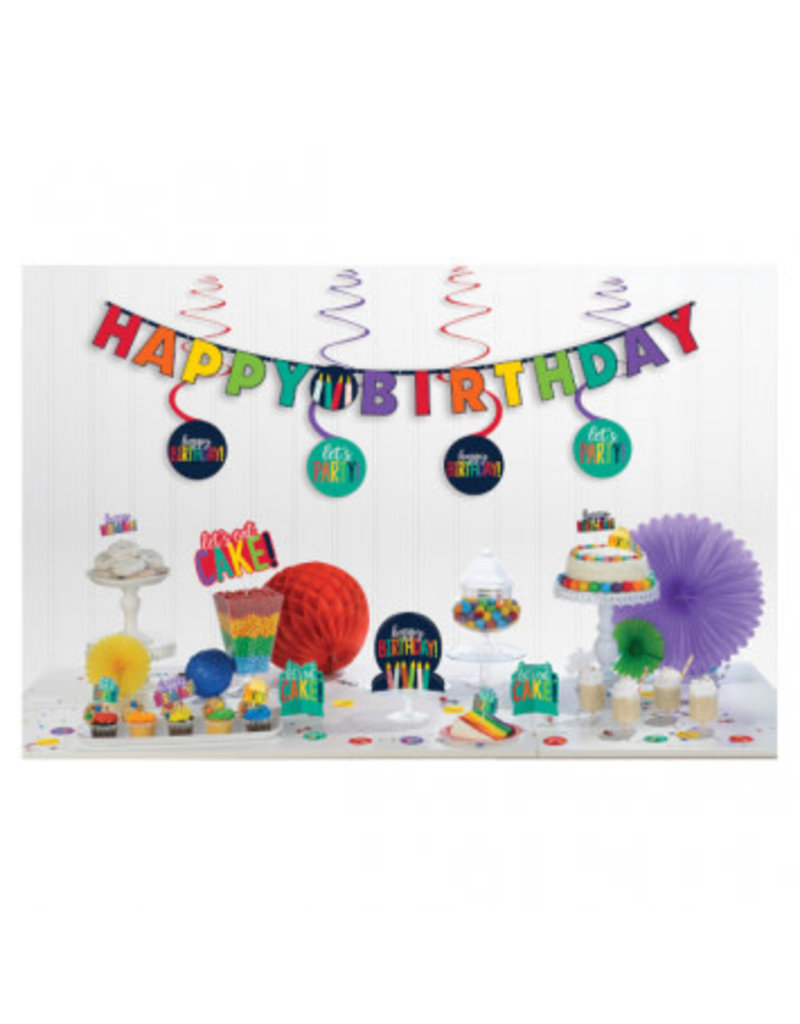 Birthday Rainbow Mini Decorating Kit