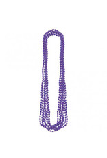 Purple Metallic Bead Necklaces (8)