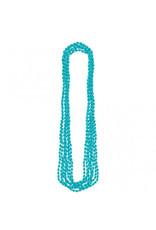 Turquoise Metallic Necklaces (8)