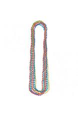 Multi Metallic Bead Necklaces (8)