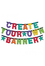 Birthday Accessories Rainbow Create Your Own Banner