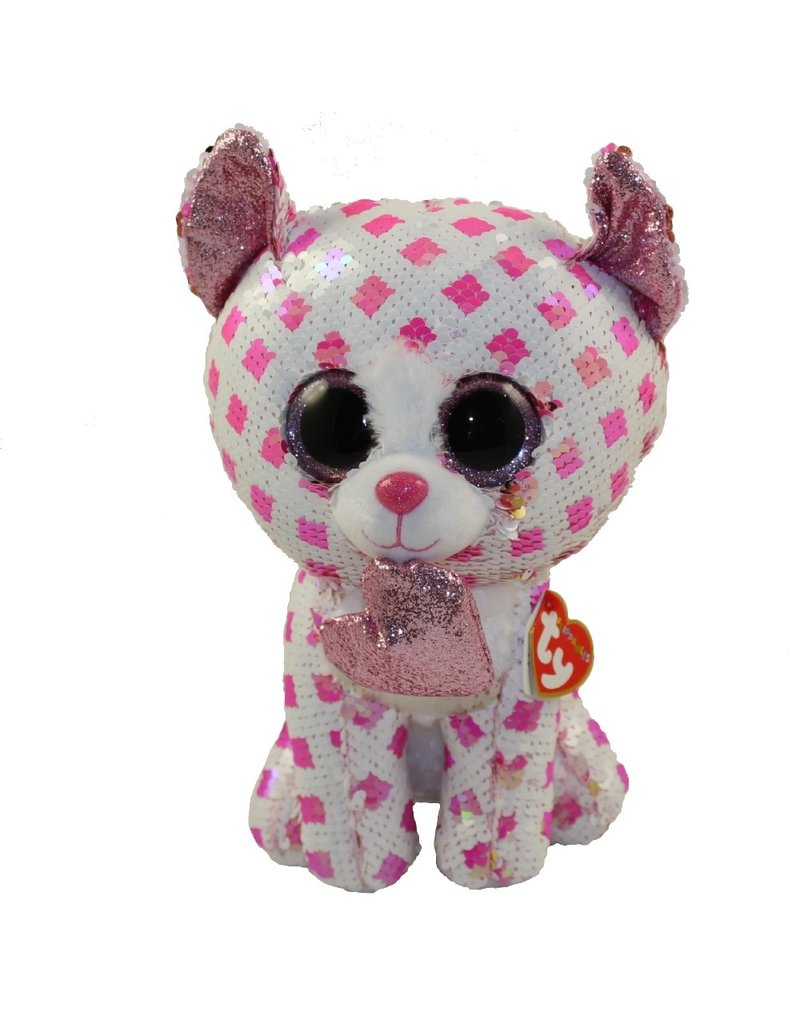 Beanie Boos Flippables Cupid Cat