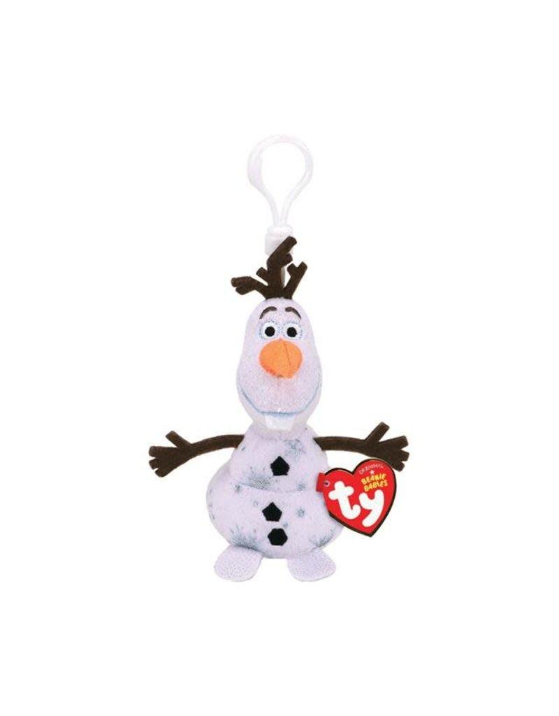 Beanie Boos Frozen Olaf Keychain
