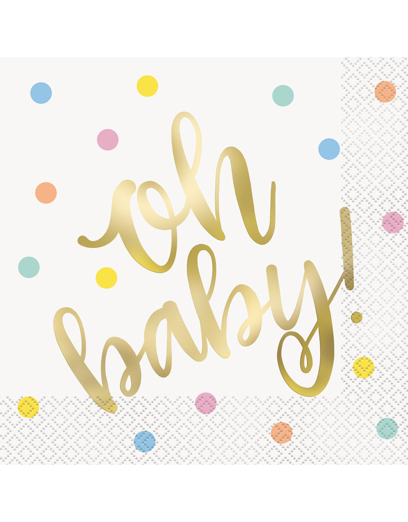 Oh Baby Lunch Napkins (16)