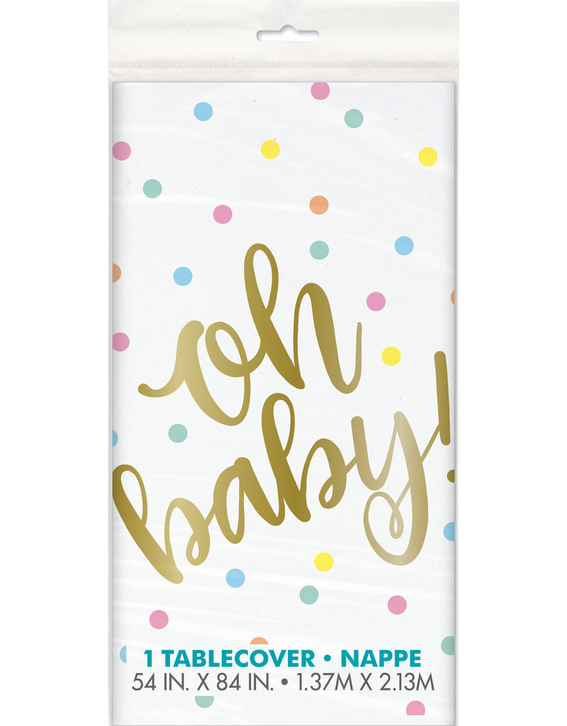 Oh Baby Table Cover
