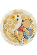 "Winnie The Pooh 9"" Plates (8)"