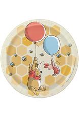 "Winnie The Pooh 7"" Plates (8)"
