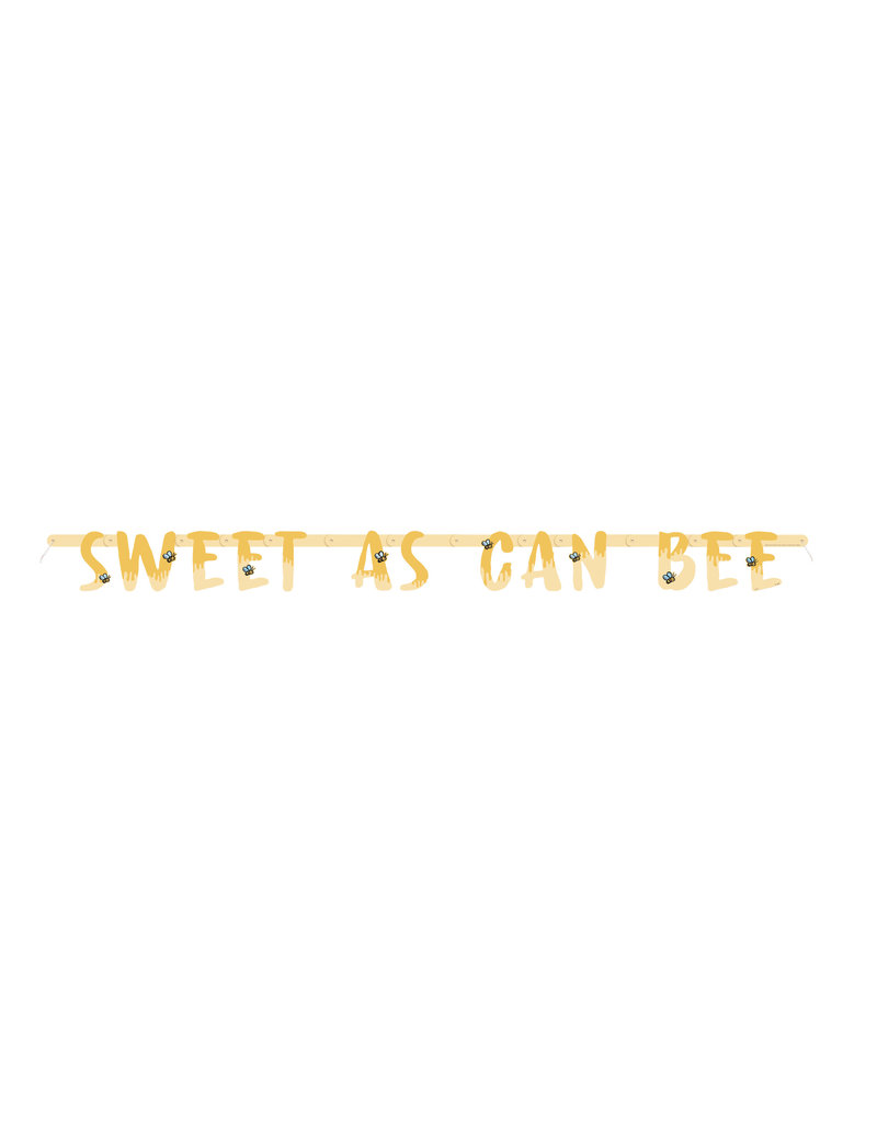 "Winnie The Pooh ""Sweet as can Bee"" Banner"