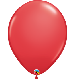 "16"" Red Balloon (Without Helium)"