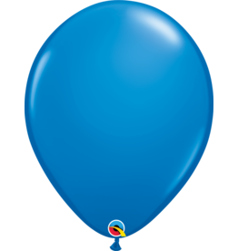 "16"" Dark Blue Balloon (Without Helium)"