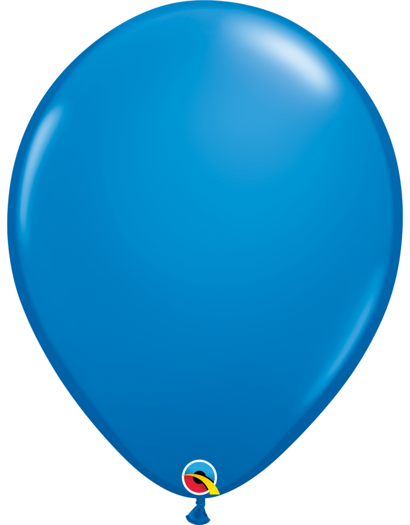 """16"""" Dark Blue Balloon (Without Helium)"""