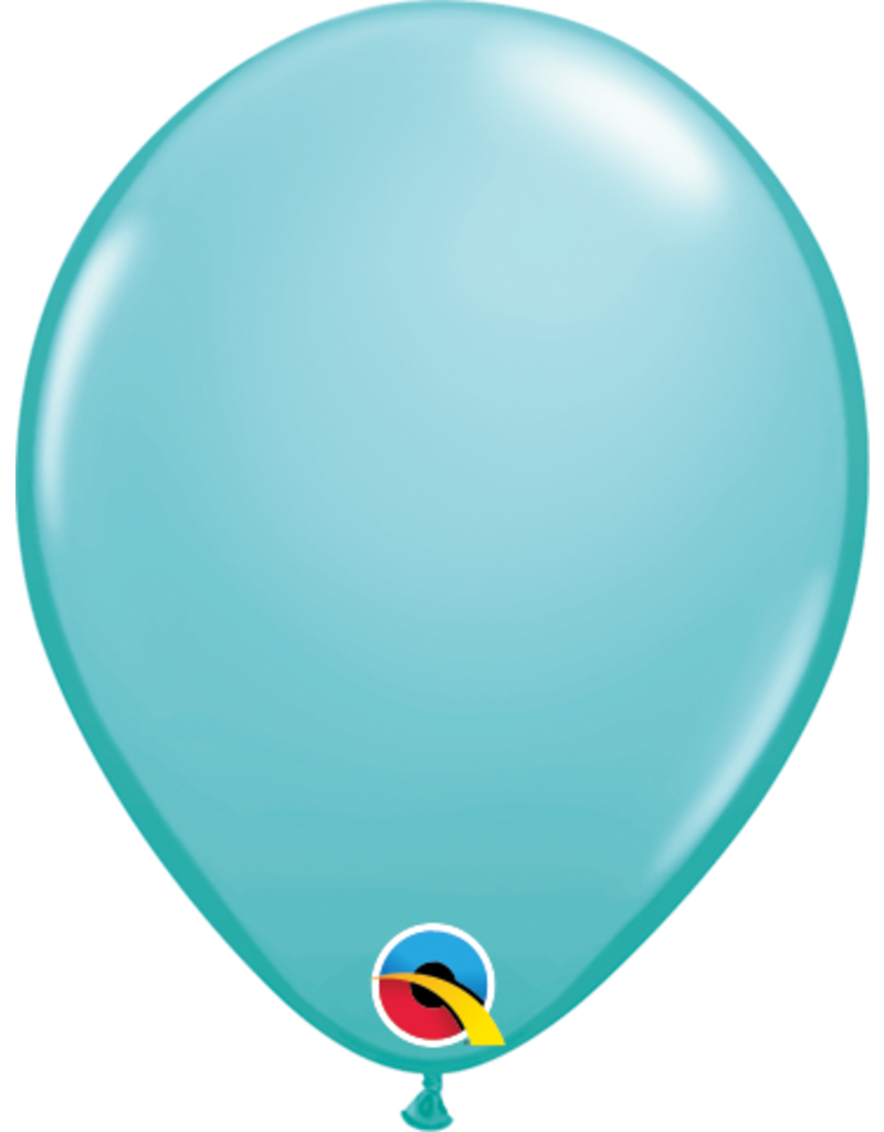 "5"" Balloon Caribbean Blue"