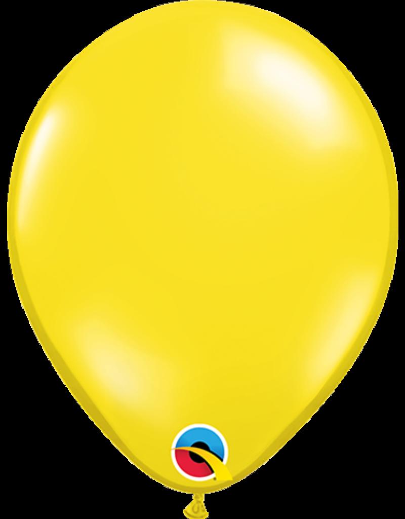 "5"" Balloon Citrine Yellow"