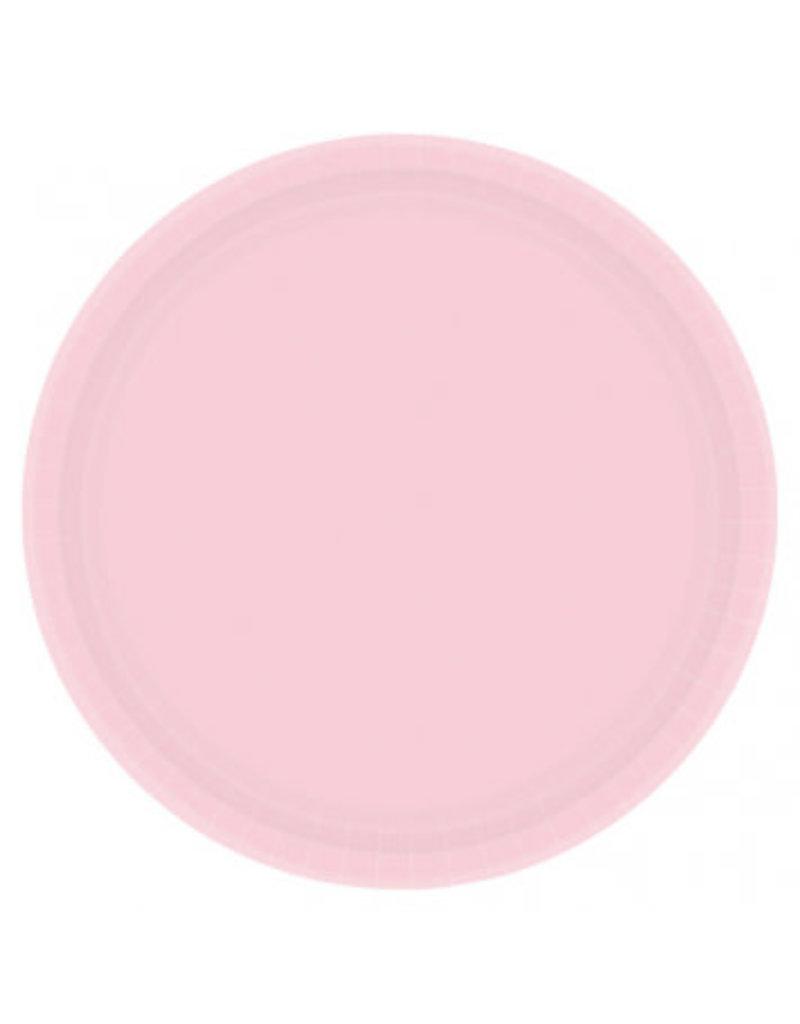 "Blush Pink 7"" Paper Plate (20)"