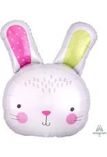 "Hello Bunny 28"" Mylar Balloon"