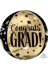 Congrats Grad Cap Bubble Balloon