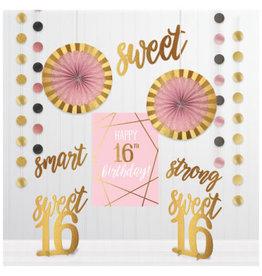Blush Sixteen Room Decorating Kit