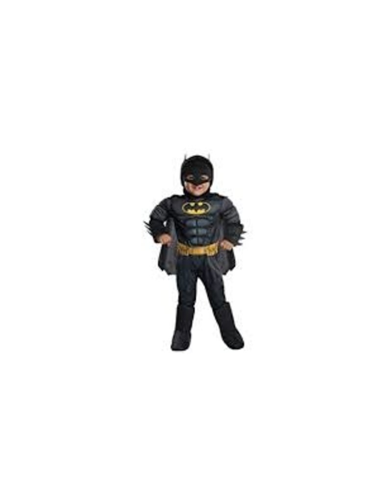 Child Batman Deluxe Muscle Chest Extra Small (2-4) Costume