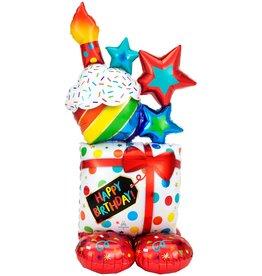 "Birthday Present 55"" Airloonz"