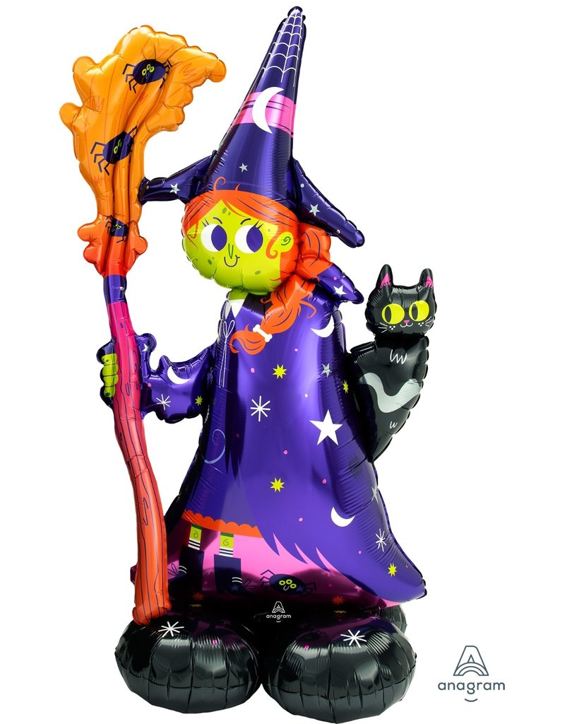 "Creepy Witch 55"" Airloonz"