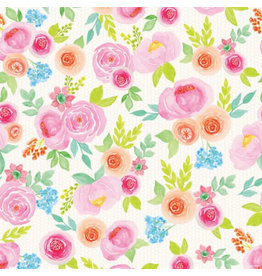 Printed Jumbo Floral Wedding Gift Wrap (16ft by 30in)
