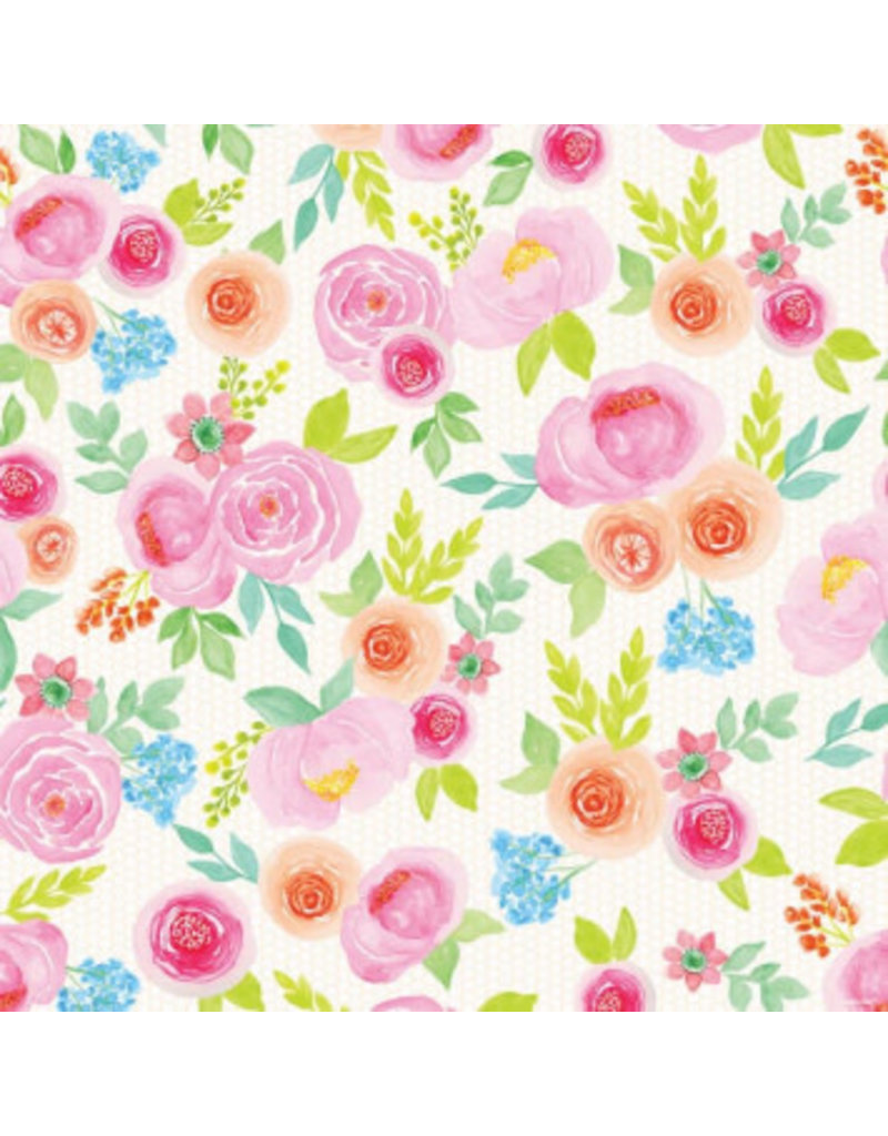Printed Jumbo Floral Wedding Gift Wrap